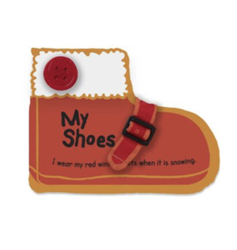 Melissa & Doug Cloth Book My Shoes