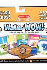 Melissa & Doug Water Wow Shapes, Number & Color Splash Cards