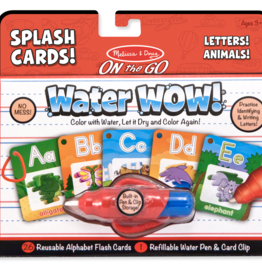 Melissa & Doug Water Wow Letters Alphabet Splash Cards