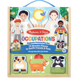 Melissa & Doug Magnetic Pretend Set Occupations