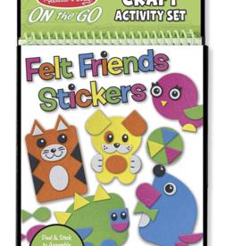 Melissa & Doug Felt Friends Craft Activity Book
