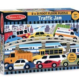 Melissa & Doug Traffic Jam Floor Puzzle