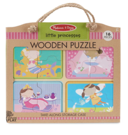Melissa & Doug Wooden Puzzle Little Princess