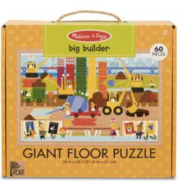 Melissa & Doug Giant 60 pc Floor Puzzle Big Builder