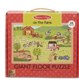 Melissa & Doug Giant 35 pc Floor Puzzle On the Farm