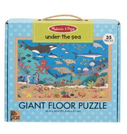 Melissa & Doug Giant 35 pc Floor Puzzle Under the Sea