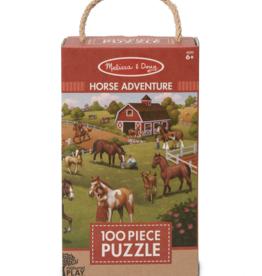 Melissa & Doug Jigsaw Puzzle Horse Adventure
