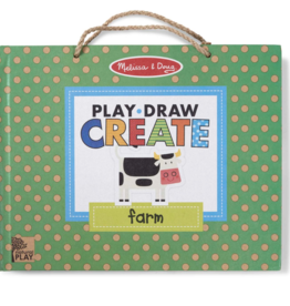 Melissa & Doug Play, Draw, Create Farm Fun
