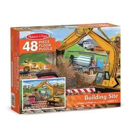 Melissa & Doug Building Site Floor Puzzle
