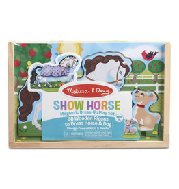 Melissa & Doug Magnetic Pretend Set Show Horse