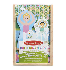 Melissa & Doug Magnetic Pretend Set Ballerina & Fairy