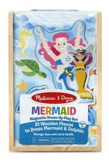 Melissa & Doug Magnetic Pretend Set Mermaid