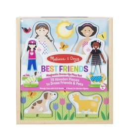 Melissa & Doug Magnetic Pretend Set Best Friends