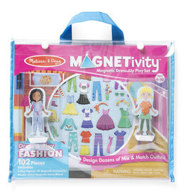 Melissa & Doug Magnetivity Set Dress & Play Fashion