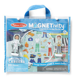 Melissa & Doug Magnetivity Set Dress & Play Careers