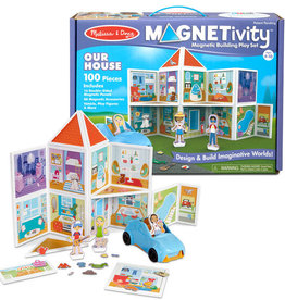 Melissa & Doug Magnetivity Set Our House