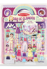 Melissa & Doug Deluxe Puffy Sticker Day of Glamour