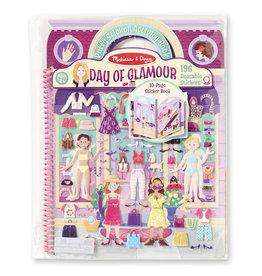 Melissa & Doug Puffy Sticker Day of Glamour