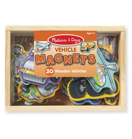 Melissa & Doug Box of Vehicle Magnets