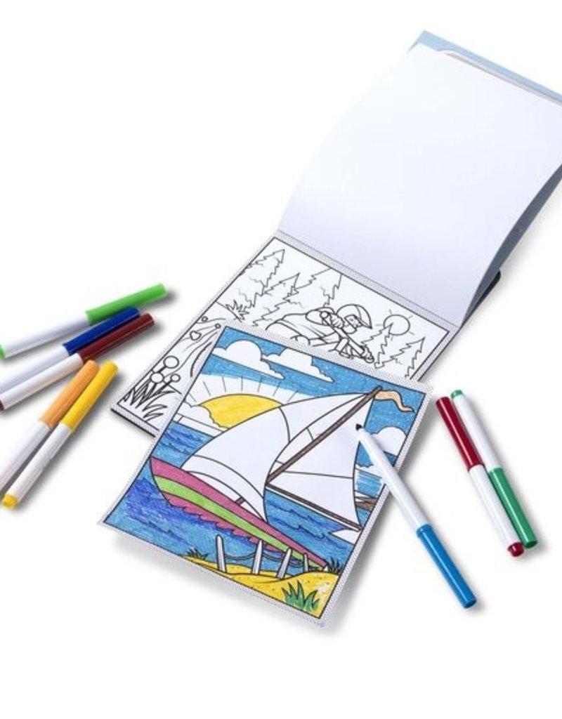 Melissa & Doug Adventure Magic Patterns Coloring Pad