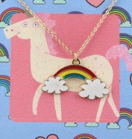 Jane Marie Necklace Rainbow