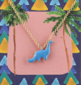Jane Marie Necklace with Dinosaur