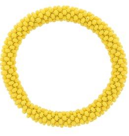 Jane Marie Beaded Roll on Bracelet Pineapple