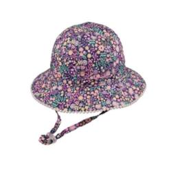 Millymook Baby Girl Floppy Hat Tilly Navy