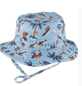 Millymook Baby Boy's Bucket Hat Makai Blue