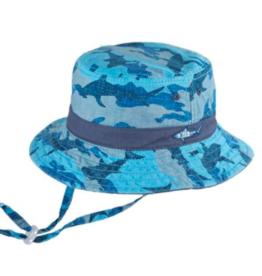 Millymook Boys Bucket Hat Reef Blue