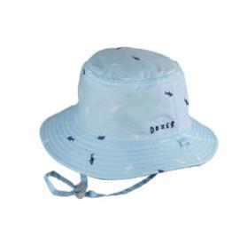 Millymook Baby Boy Bucket Hat Deep Sea Blue
