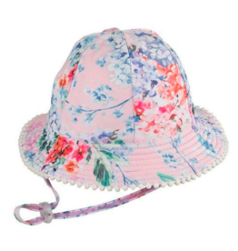 Millymook Baby Girl Floppy Hat Coco Floral S(0/12M)