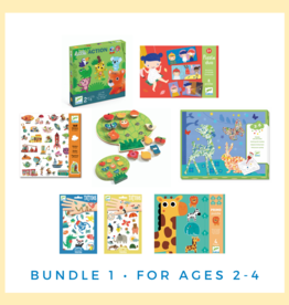 Djeco Puzzle & Game Gift Set Ages 2-4