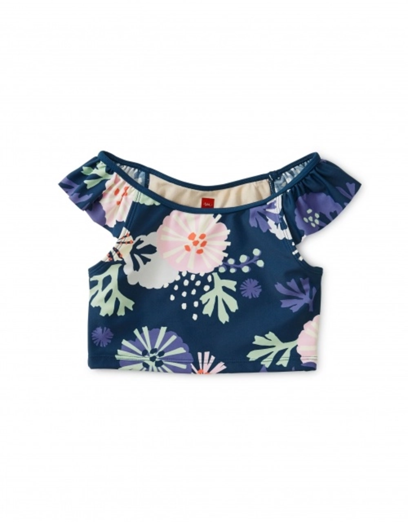 Tea Collection Sea Life Ruffle Tankini Top
