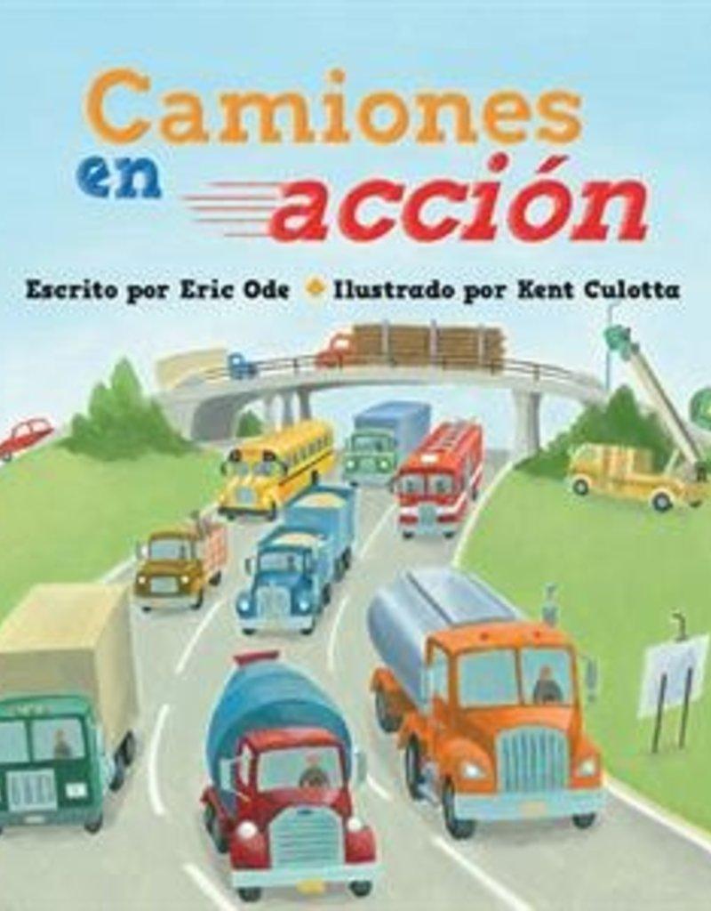 Usborne Busy Trucks on the Go, Spanish