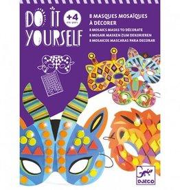Djeco Jungle Animal Masks Mosaics