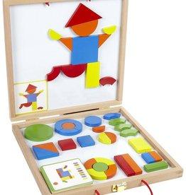 Djeco Geoform Magnetic Games
