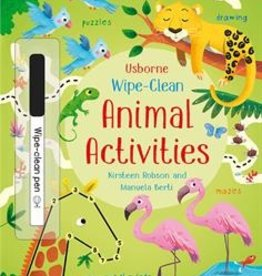 Usborne Wipe Off Animal Activity