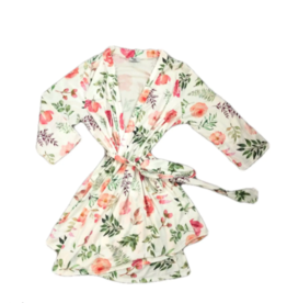 Queen Maddyn Robe and Gown 3 pc Set Blooming