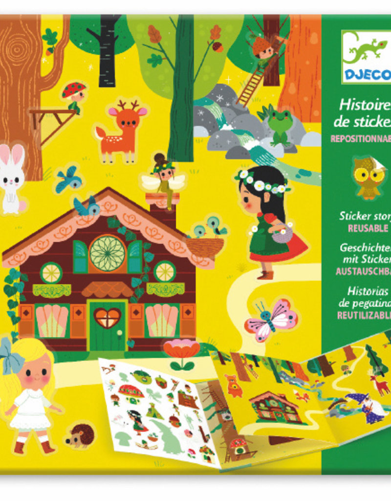 Djeco The Magical Forest Sticker Stories