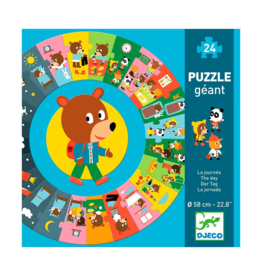 Djeco Giant Floor Puzzle The Day