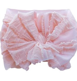 In Awe Ruffle Headwrap Peachy Keen