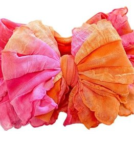 In Awe Ruffle Headwrap Hibiscus