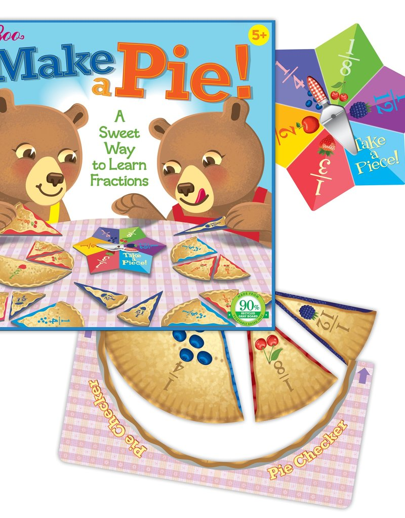Toys and Games Make a Pie Game
