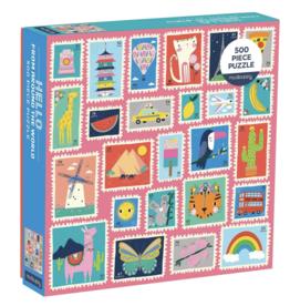Chronicle Books Puzzle Hello Around World 500 Pc