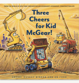 Chronicle Books Three Cheers for Kid McGear!