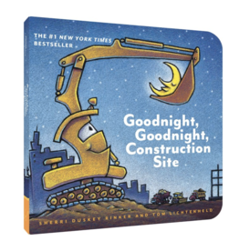 Chronicle Books Goodnight Construction Site Board Book