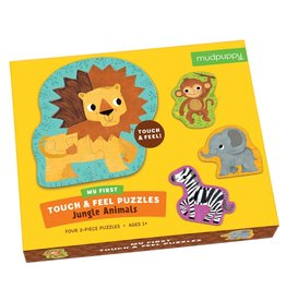 Chronicle Books Touch Feel Jungle Animals Puzzle