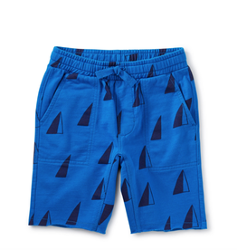 Tea Collection Sailboats Baby Shorts 3/6-9/12