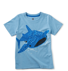 Tea Collection Tattle Whale Shark Tee 2T, 3T